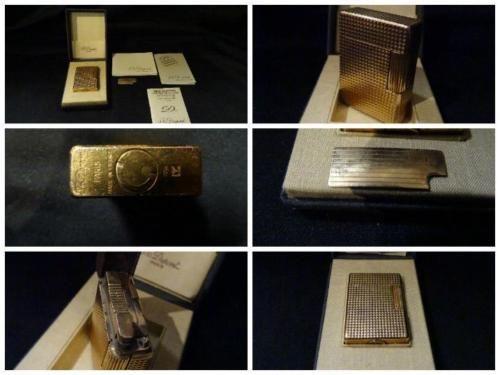 Accendino S.T. Dupont placcato oro – Paris – Vintage