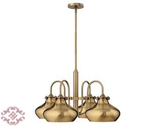 Фото - Congress Metal Brushed Caramel - Люстра Congress Hinkley Lighting  с  4-мя  плафонами, арт. ID00014839