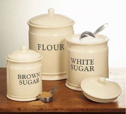 I need something traditional to put my baking ingredients in.