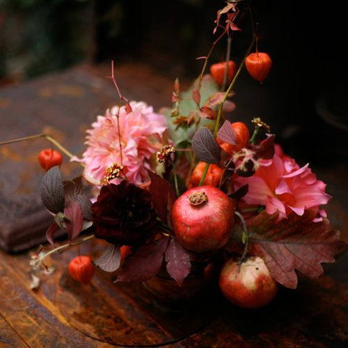 fall floral, maybe Thanksgiving centerpiece