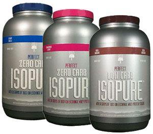 Carb free protein powder isopure protein perfect zero carb protein
