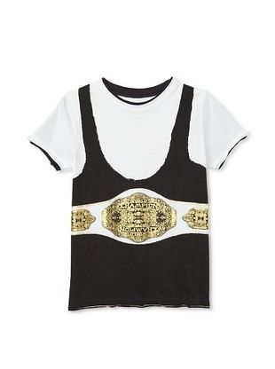 62% OFF Mini Shatsu Boy's The Champ T-Shirt (White)