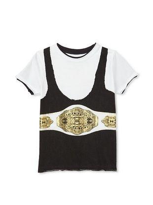 62% OFF Mini Shatsu Boy's The Champ T-Shirt (White)