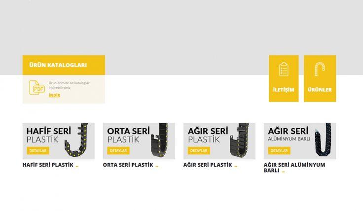Crocodile Cable Carrier Kontrol Panelli Web Sitesi - İç Sayfa - Silüet Tanıtım Web Tasarım