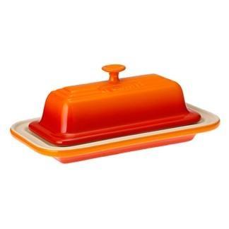 Mantegueira de cerâmica Le Creuset laranja