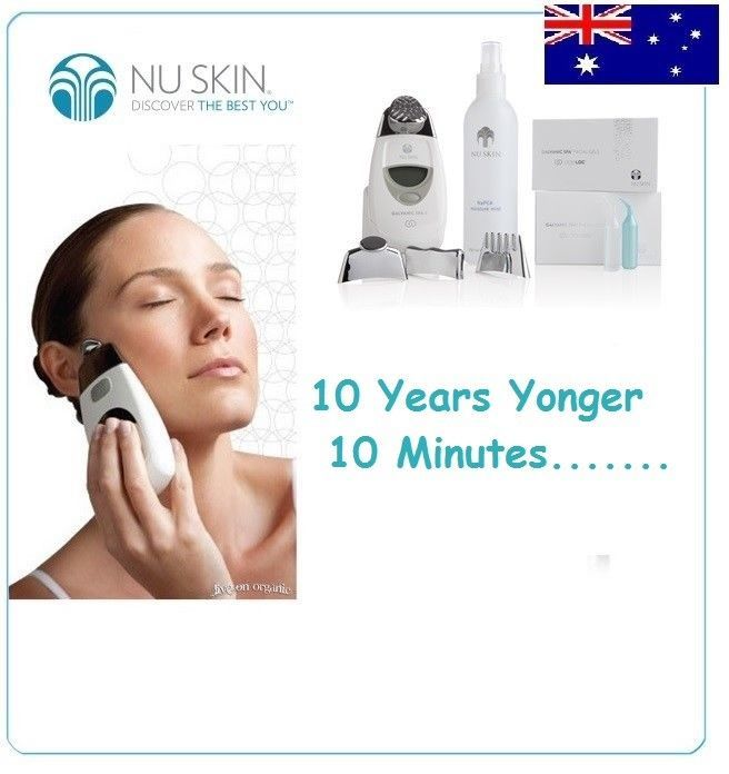 Nu Skin AgeLOC Galvanic Spa Package System II Anti-Ageing Skin Care&Hair Spa Kit #NuSkin