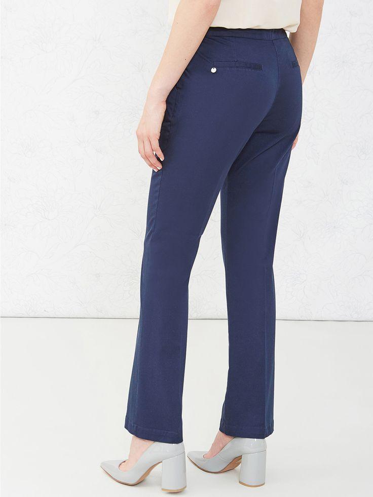 Pantaloni regular in cotone - Oltre