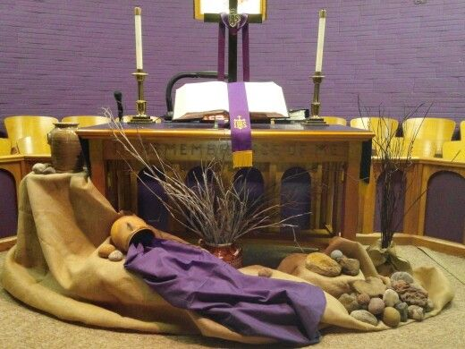 Decoration for Lent season