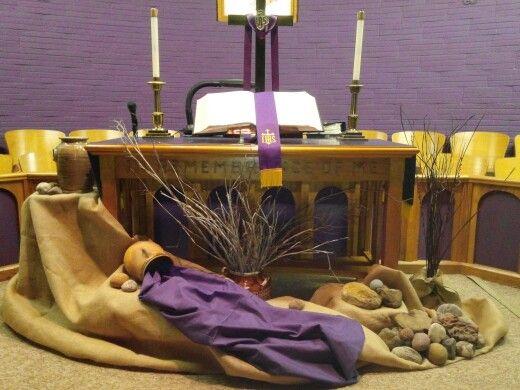 Decoration for Lent season