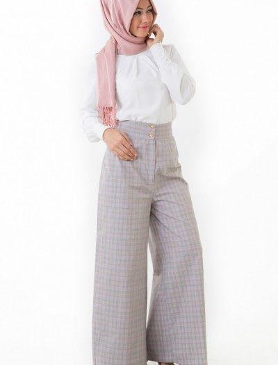 The Kendira Pantolon Etek P1995-6 Gri
