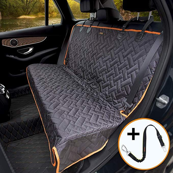 Amazon Com Ibuddy Bench Car Seat Cover For Car Suv Small Truck Waterproof Back Seat Cover For Kids Without Pet Car Seat Covers Pet Car Seat Dog Seat Covers