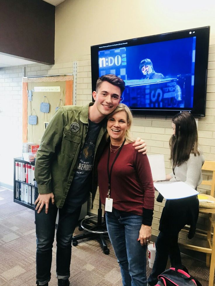 Greyson at jenks High School, Oklahoma. #greysonchance #greyson #picture