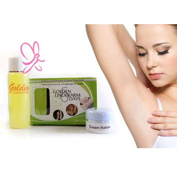 Golden Underarm Pemutih Bulu ketiak Wanita - Aybela.com Toko Online Kecantikan dan Kesehatan