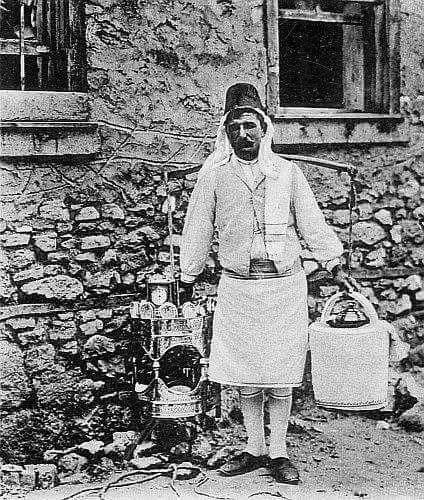 İstanbul'da geçmiş zaman muhallebicisi #istanlook #nostalji #birzamanlar
