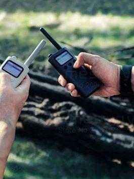 Рация Xiaomi Mijia Smart Walkie Talkie  📞 Говорите между собой на расстоянии около 10 км, так же вы можете прослушивать... - Елена Сергиенко - Google+