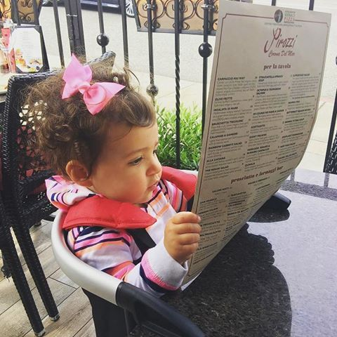 when there's a menu of options, the lobster portable high chair is always a good choice. repost @mrsbennigson