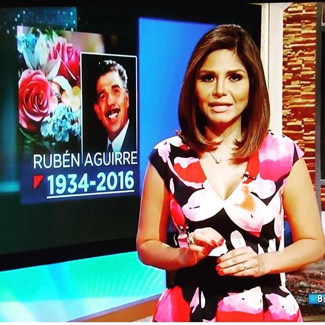 Muere Rubén Aguirre, El profesor Jirafales, En el chavo Del 8'' @despiertamerica @nataliacruznews #teamnataliacruz