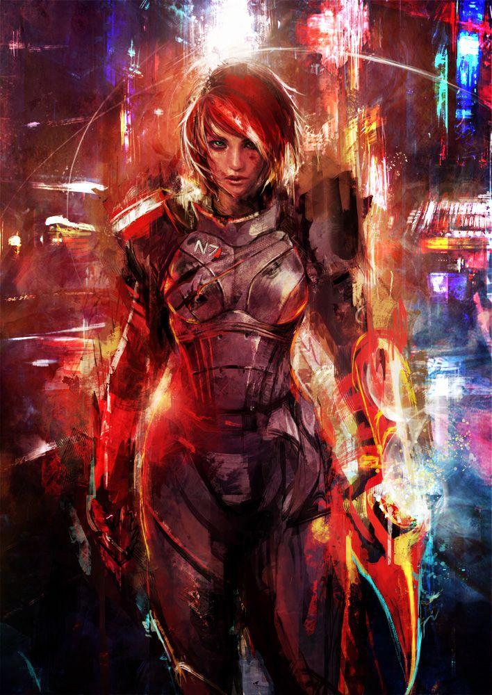Mass Effect - N7 Omega by muju on deviantART