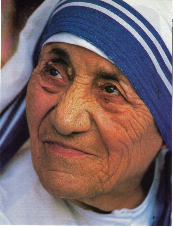 Mother Theresa... Albanian