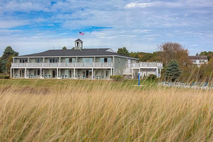 Seaside Inn and Cottages, Kennebunk, Maine — established 1756