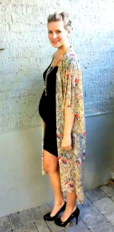 If your LBDs are a little too short now that you have a bump, try this cool fix from our maternity fashionista! #fashion