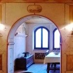 Ref. A2245 Old restored farmhouse with about 7,000 sq.m. of land near the beautiful Lake San Ruffino, between Monte San ..