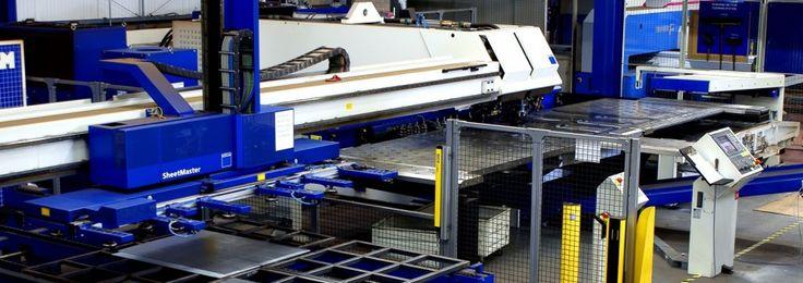 Hydram UK - automated trumpf TC6000L punching and laser combination machine