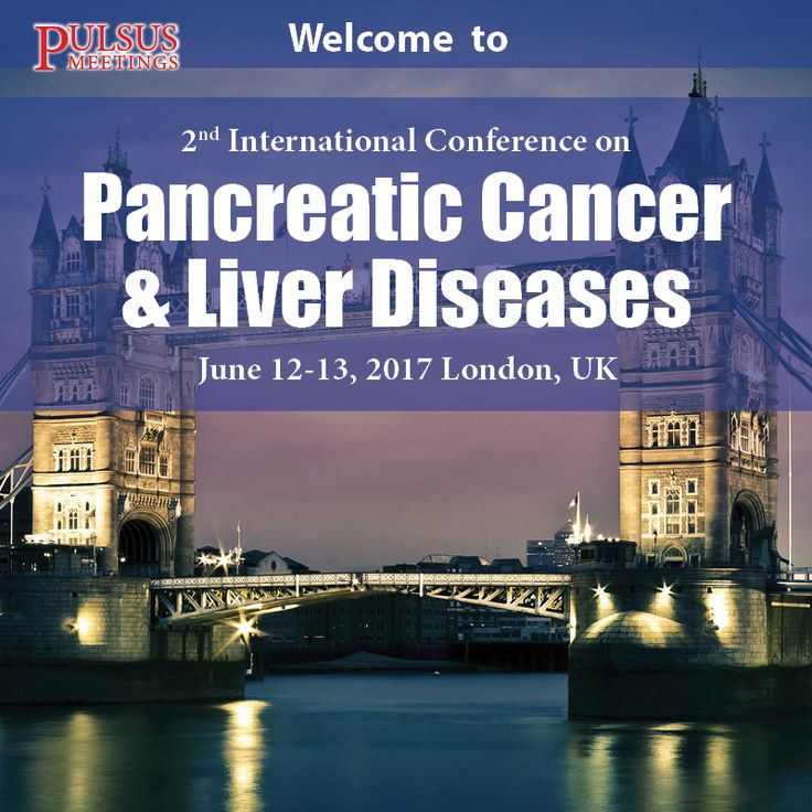 Pulsus invites you to attend 2nd International Conference on Pancreatic Cancer & Liver Diseases (Pancreatic Cancer 2017) to be held in London, UK during June 12-13, 2017.
