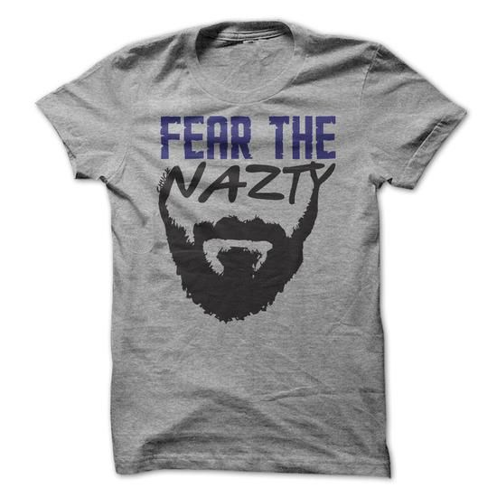 Fear the Chuck Nazty T Shirts, Hoodie. Shopping Online Now ==► https://www.sunfrog.com/Sports/Fear-the-Chuck-Nazty-.html?41382