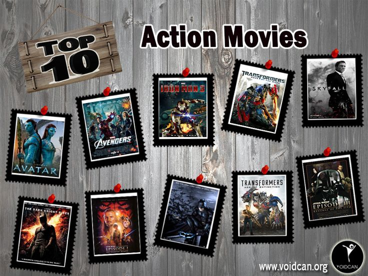 Voidcan.org brings you the list of top ten action movies and all the information regarding action movies which makes them best. List is researched by our movies experts.