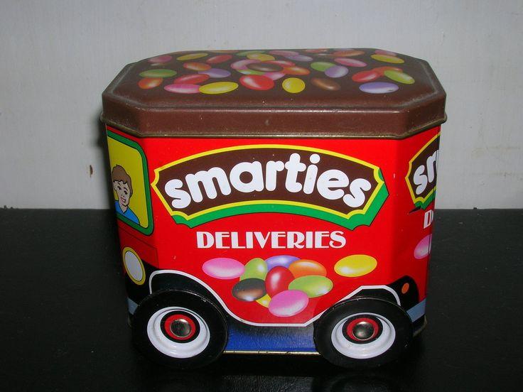 SMARTIES Deliveries Truck scatola di latta