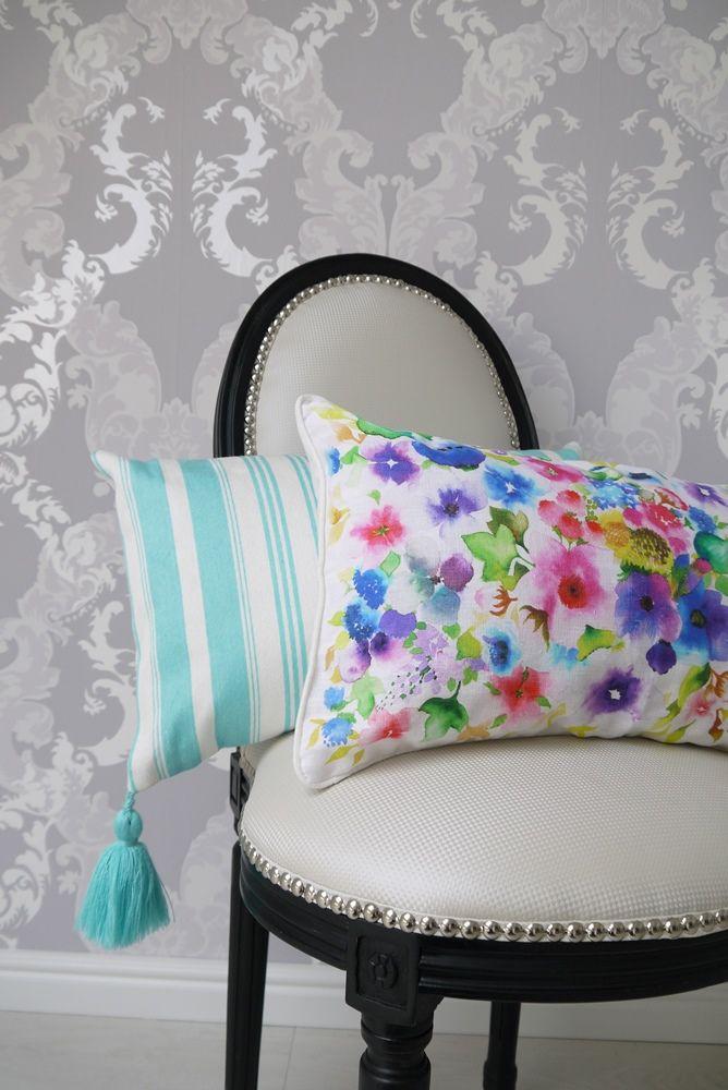 Zara Home colourful pillows