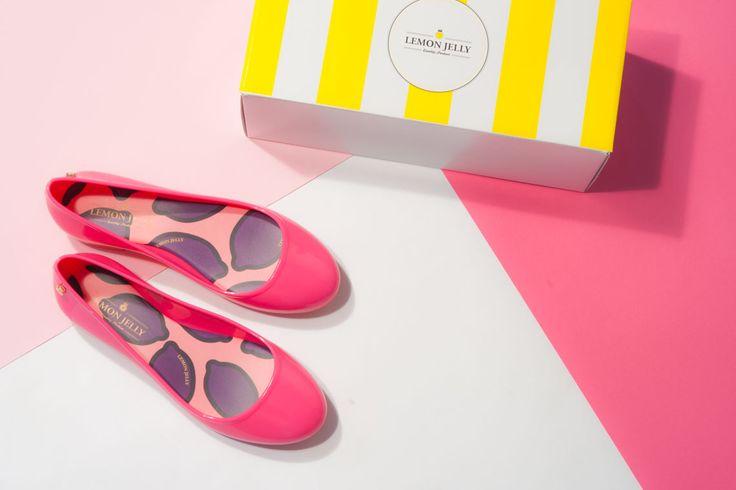 Ballerine #lemonjellyshoes in gomma colorate .     Scopri di più sul nostro online www.lucacalzature.it