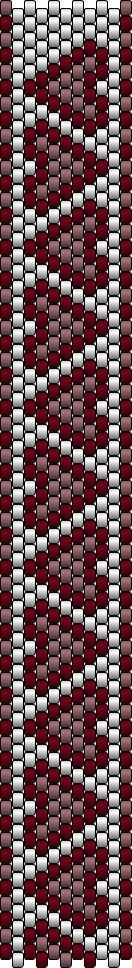 The Bead Guide: Bracelet Pattern: Native Hearts