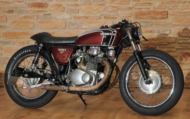 1973 HONDA CB350 - KLASSIK KUSTOM - INAZUMA CAFE RACER