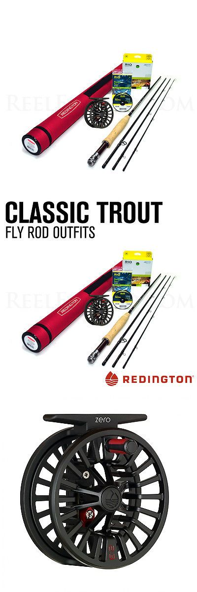 Fly Fishing Combos 33973: New - Redington Classic Trout 376-4 Fly Rod Outfit - Free Shipping! BUY IT NOW ONLY: $279.0