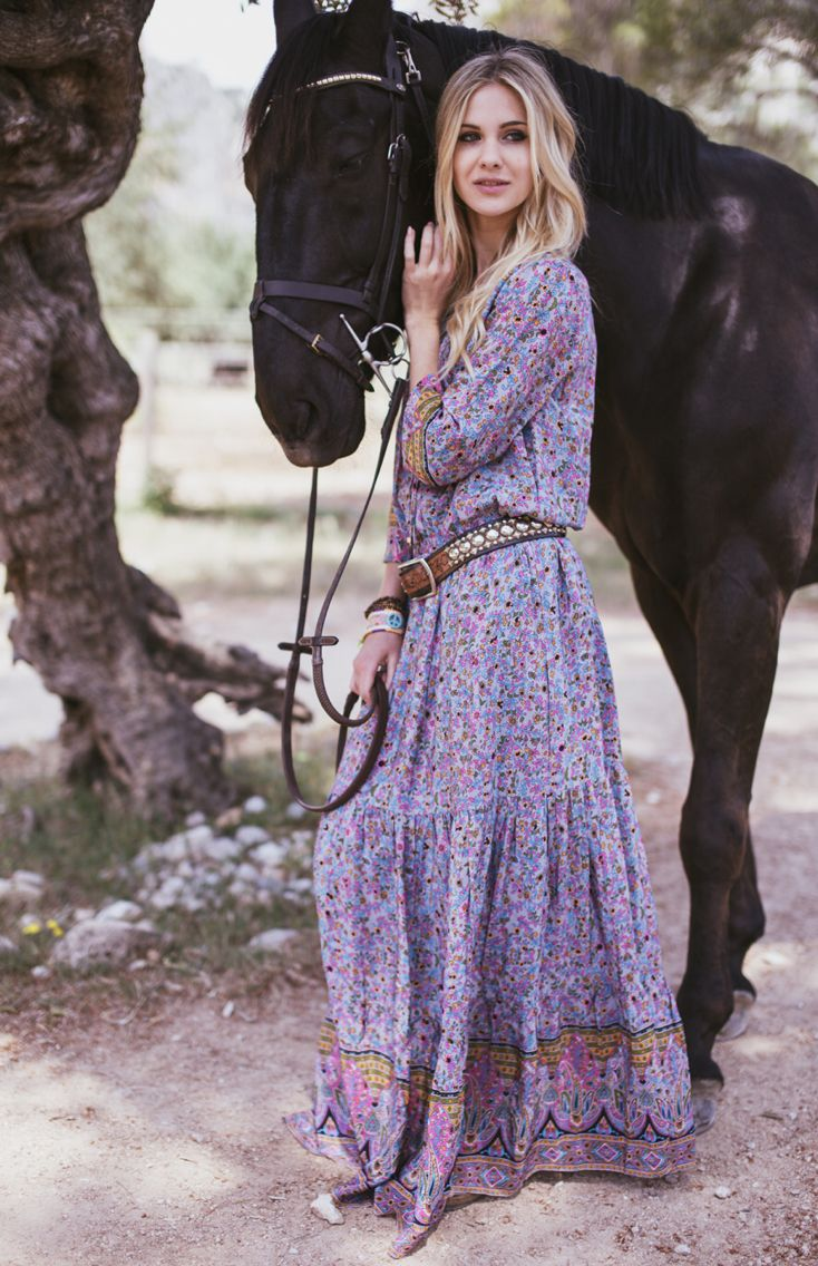 ChillNorway florenzia boho long dress