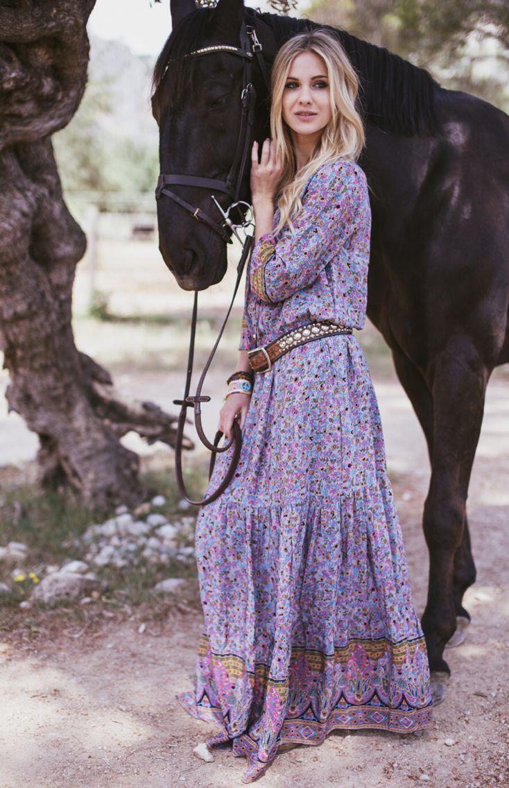 ChillNorway florenzia boho long dress