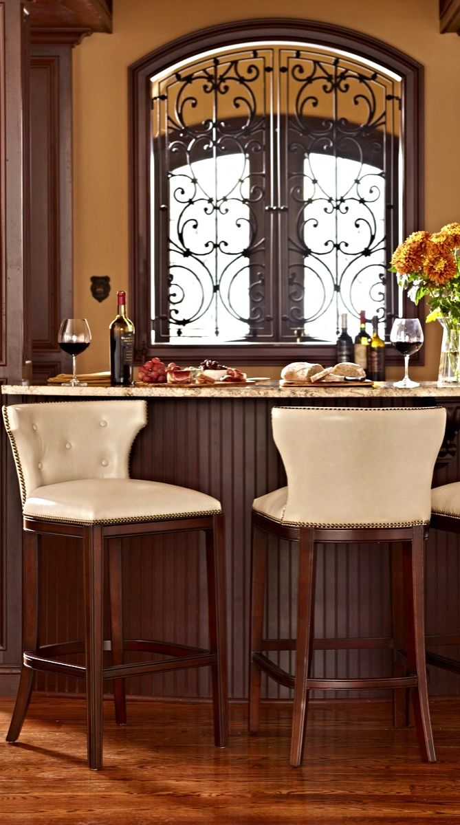 Marseille Bar And Counter Stools Transitional Style