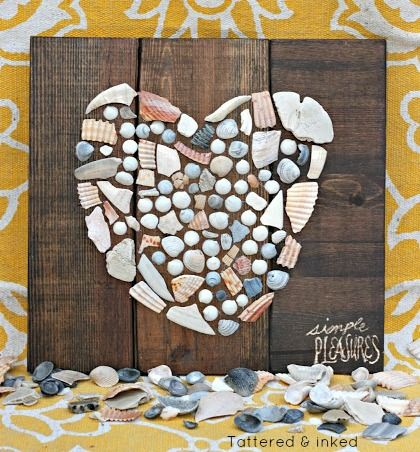 408 Best Images About Shell Crafts Amp Decor On Pinterest