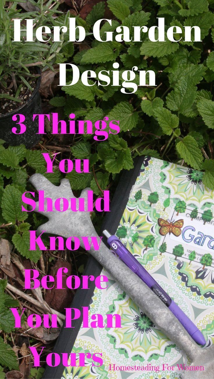 The 25 best ideas about Herb Garden Design on Pinterest