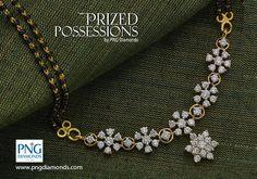 10 Different Styles Diamond Mangalsutra | Jewellery Designs