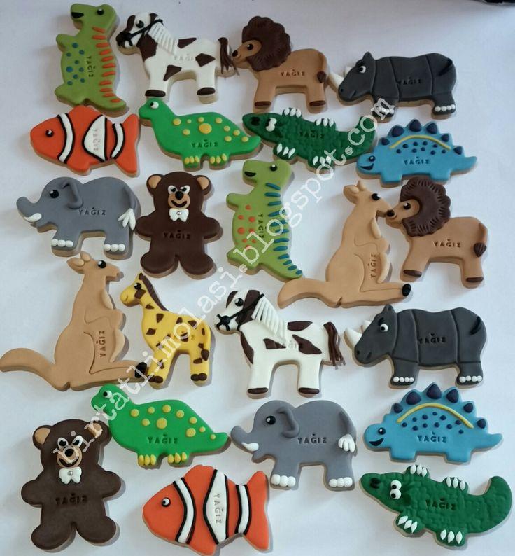 Hayvanlar alemi kurabiyeleri