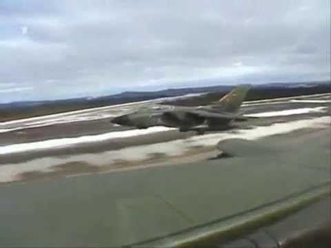 Panavia Tornado Jet in Action (German Air Force)