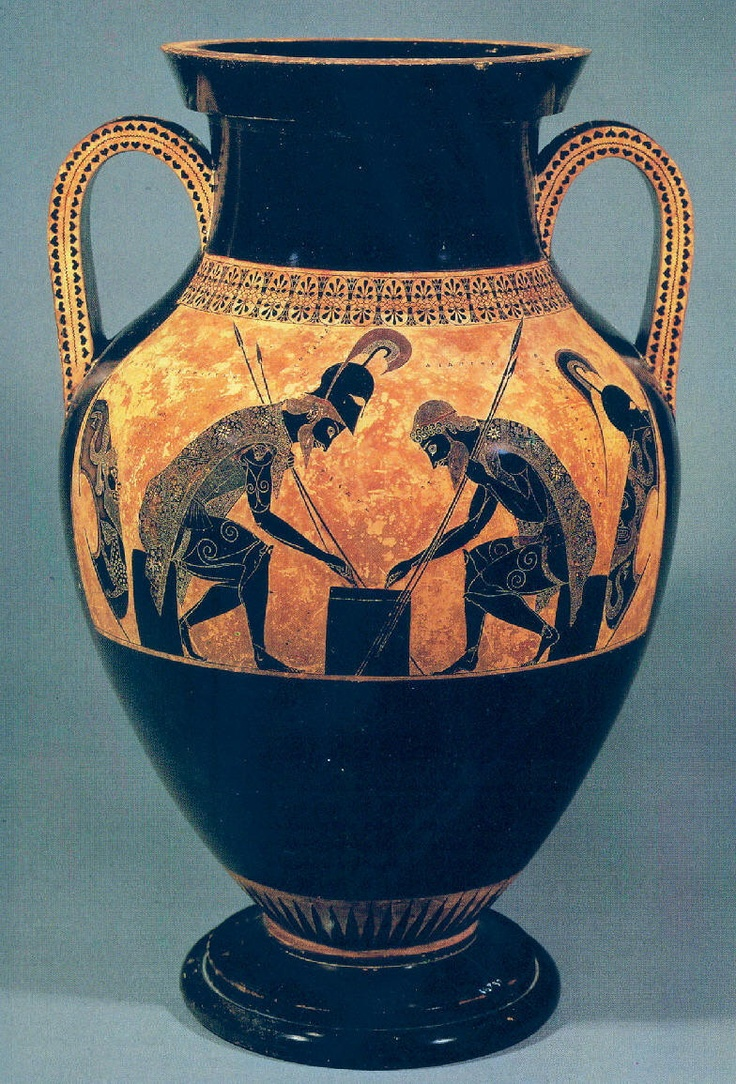 17 Best Images About Greek Vases Exekias Painter On
