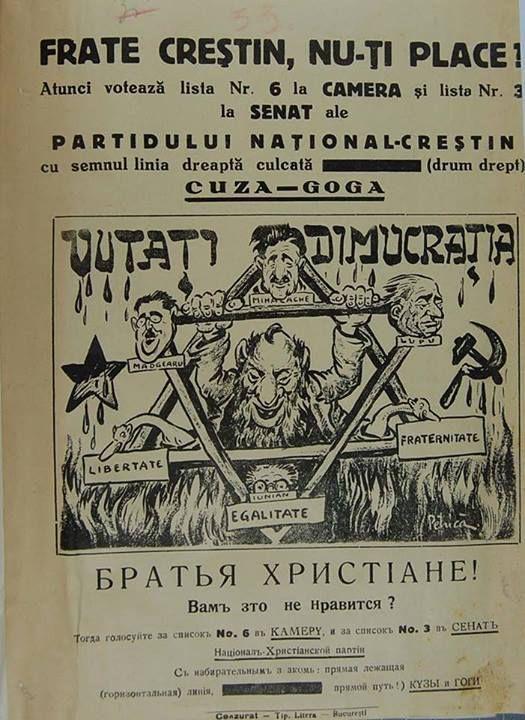 Afiș al Partidului Național-Creștin