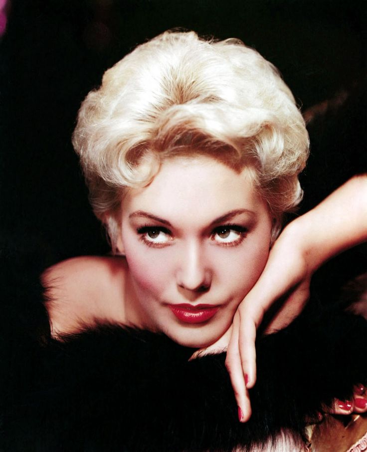 Kim Novak - I think of mink when I then of Ms Novak - she never appeared very happy I hope i have the wrong impression