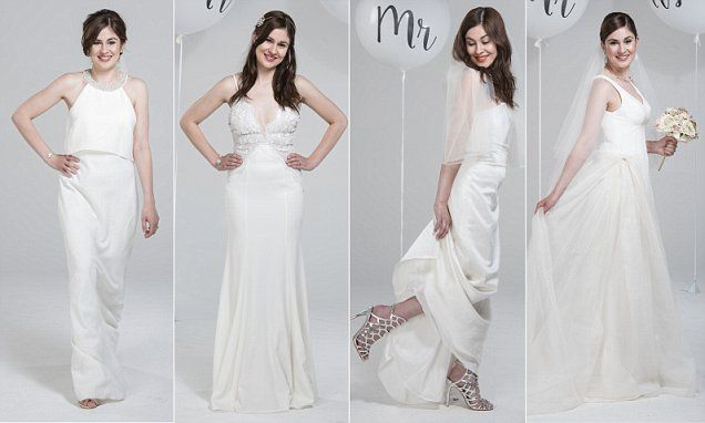 Can you tell a £5,000 wedding gown from a £100 high street dress?