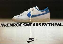 John Mc Enroe Nike Wimbledon #Vintick #Vintage #Nike