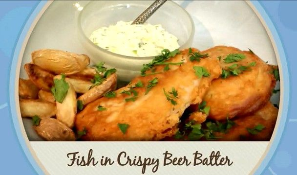Fish in Beer Batter : Food : The Home Channel